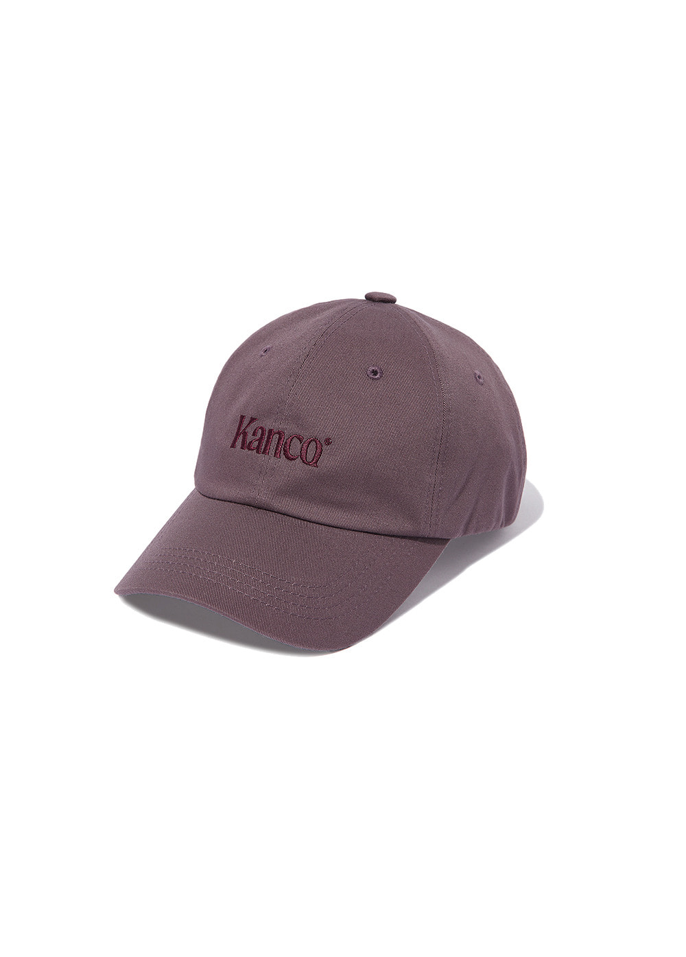 KANCO SERIF LOGO CAP purple