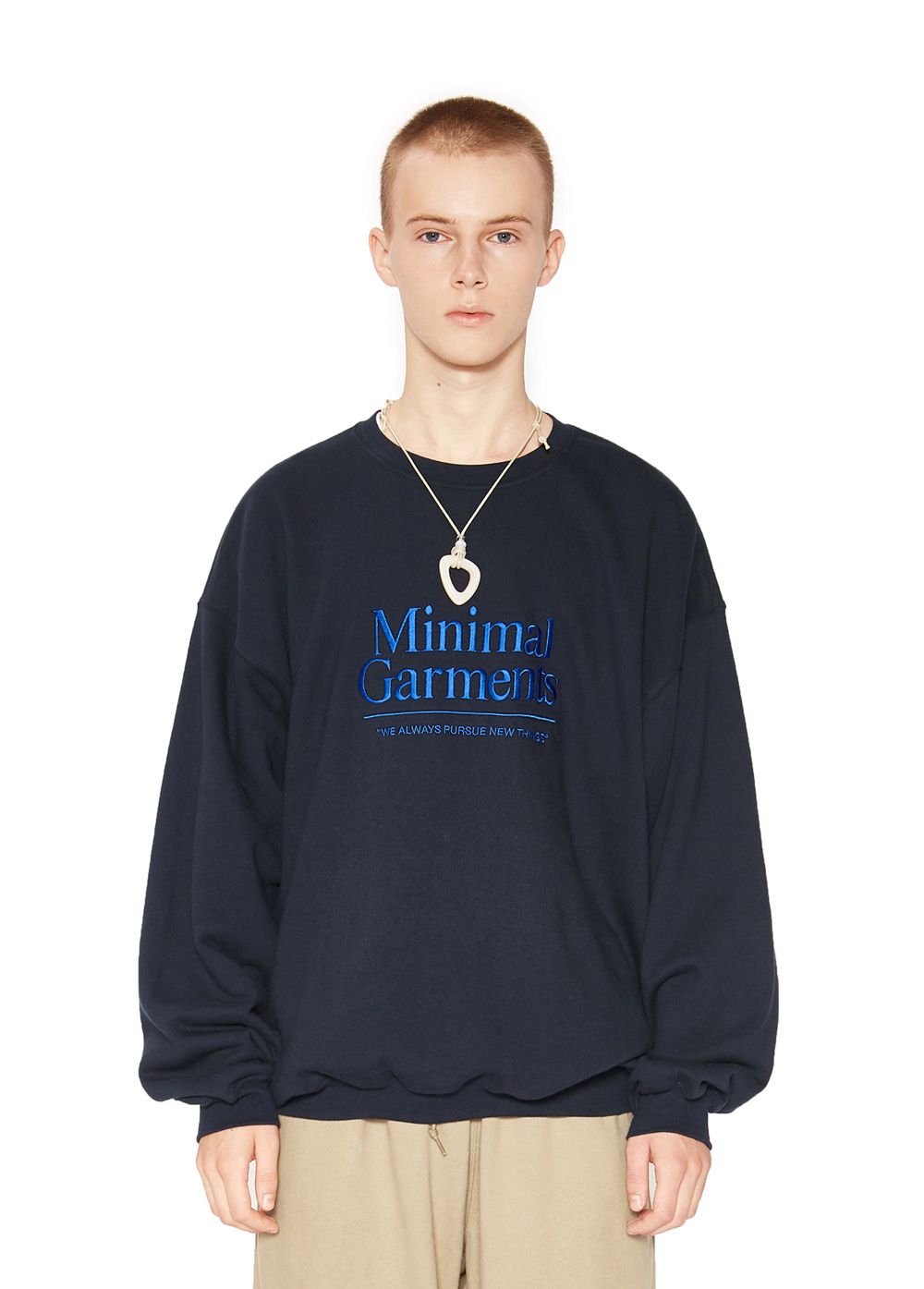 BIG LOGO SWEATSHIRT navy