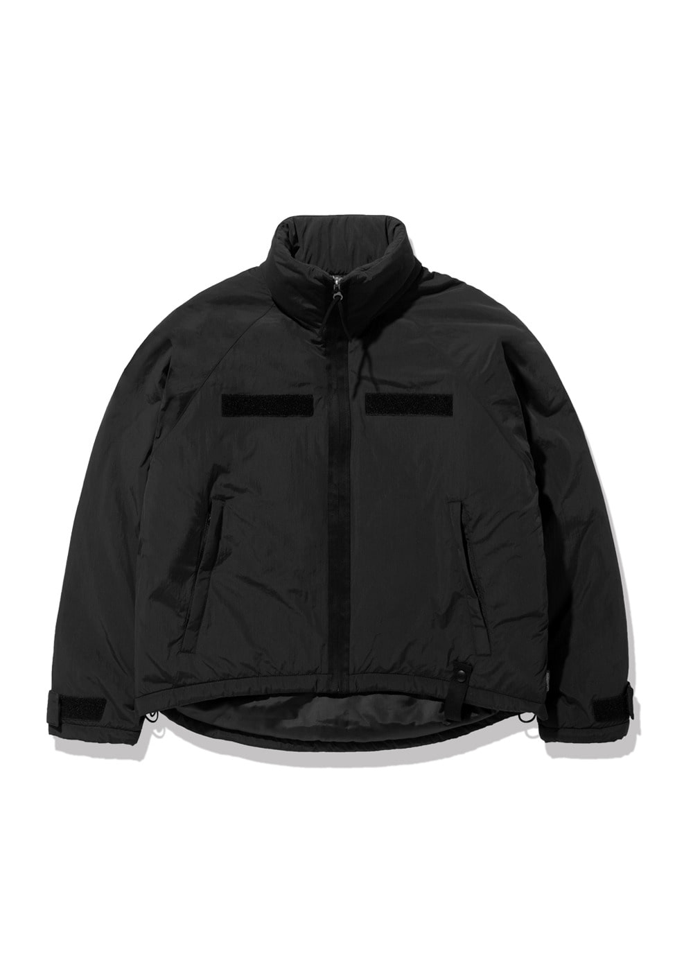 FUZZ LEVEL7 SHORT PARKA black