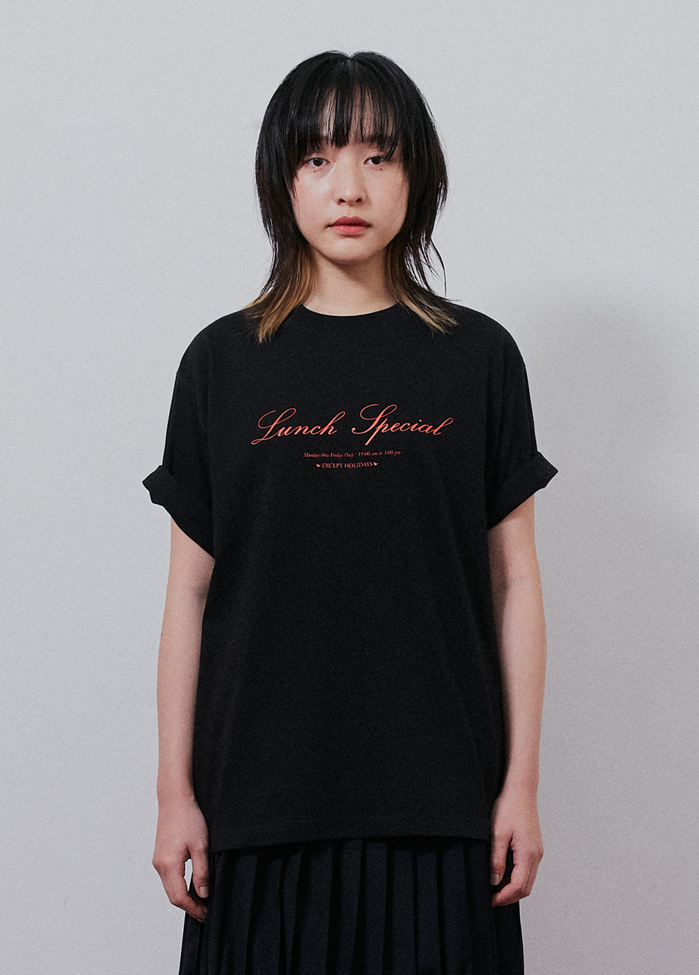 KANCO LUNCH TEE black