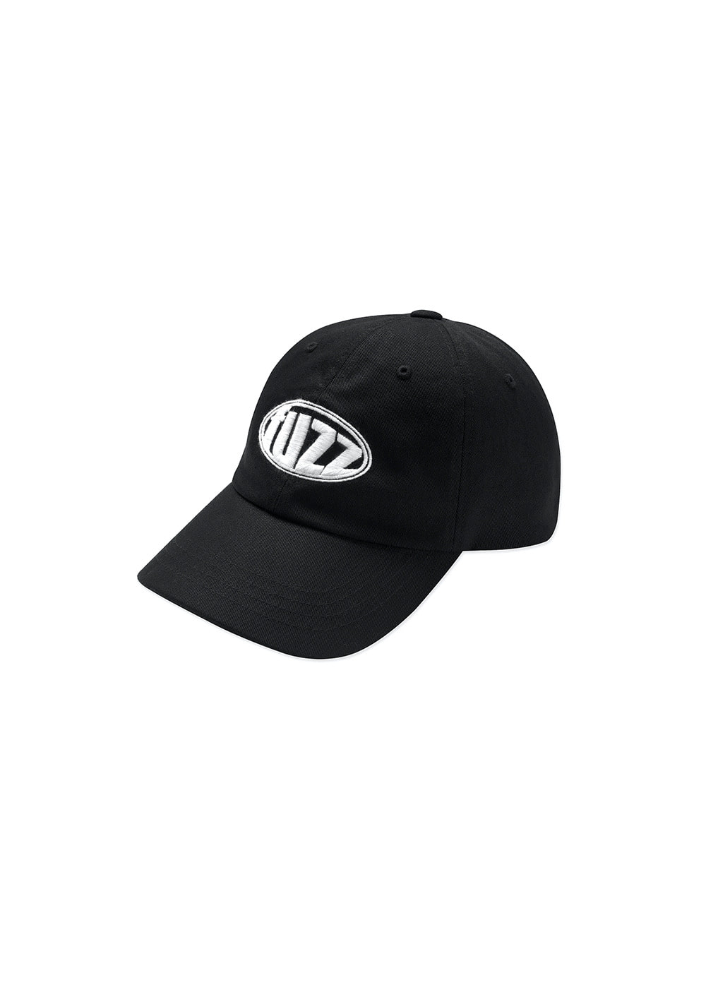 FUZZ CIRCLE LOGO CAP black