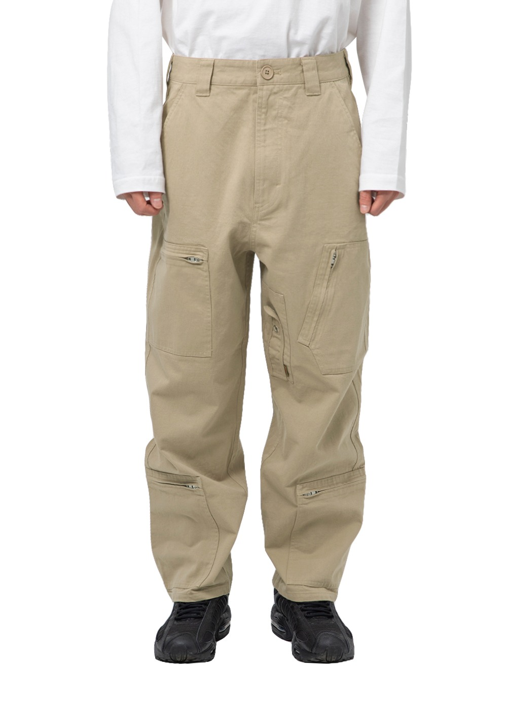 LMC BDG FLIGHT PANTS beige