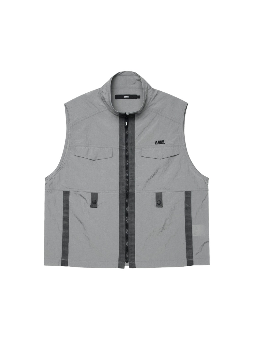LMC TAPED UTILITY VEST gray