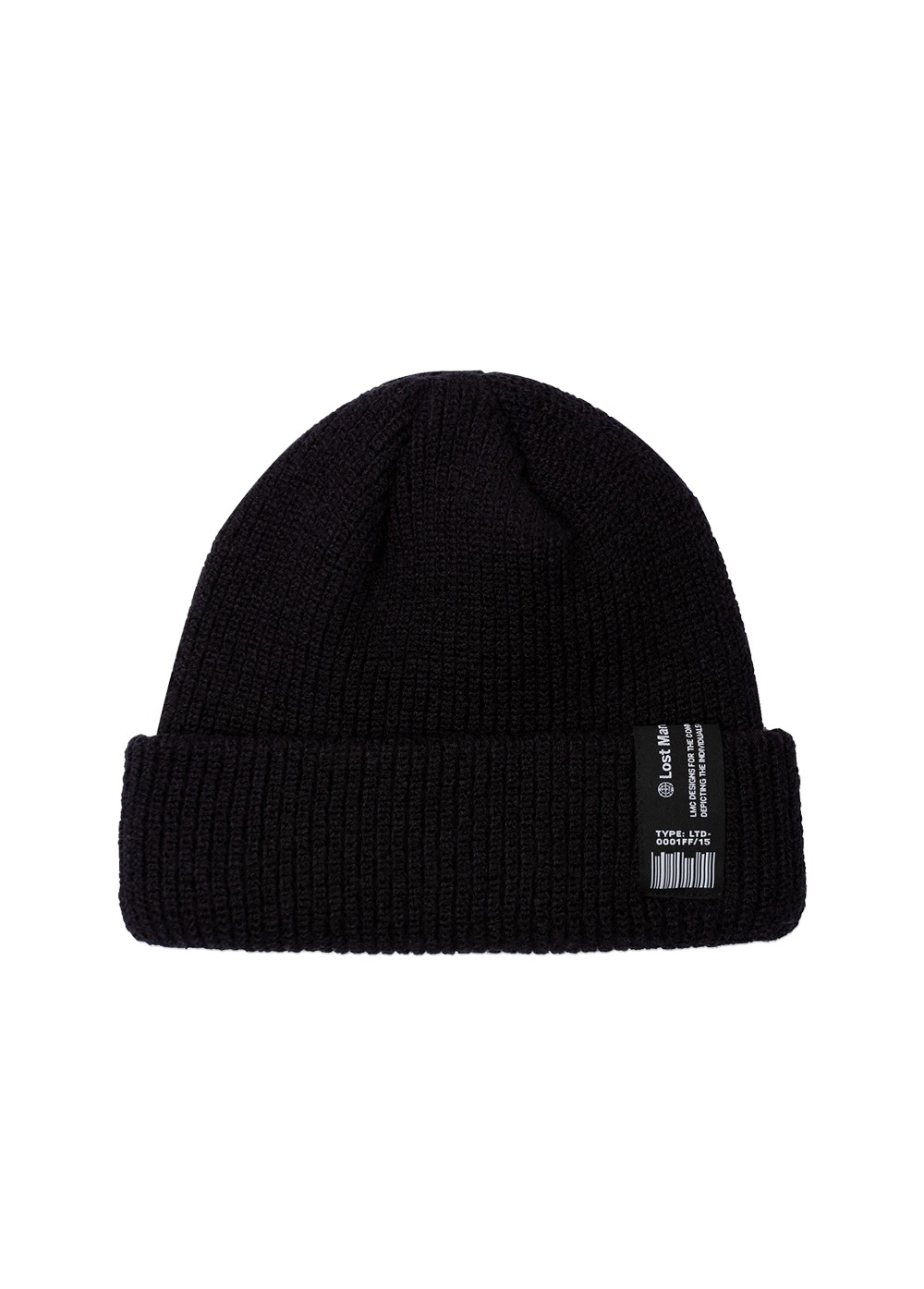 LMC LABEL SHORT BEANIE black