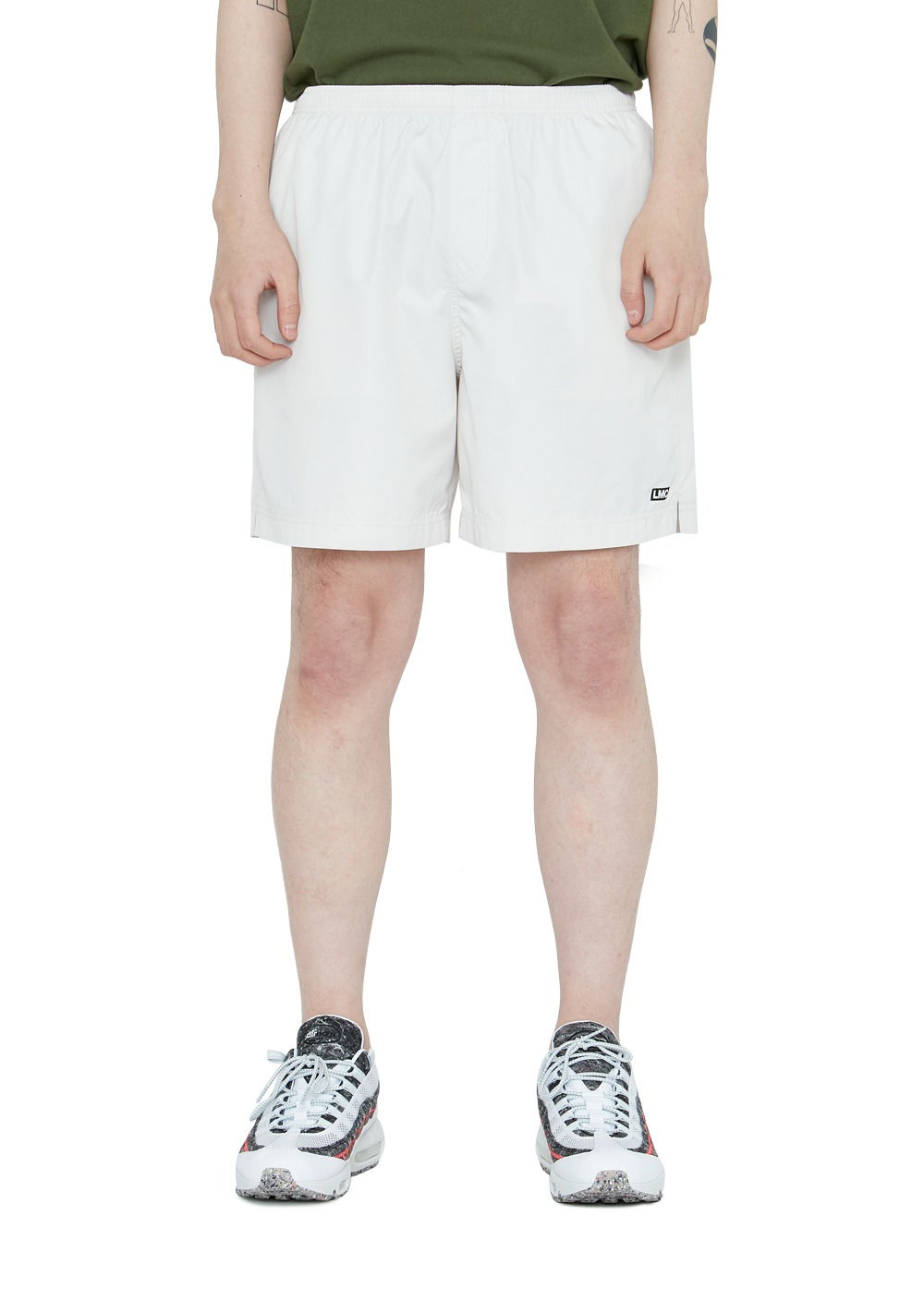 LMC IDEAL TRACK SHORTS cream