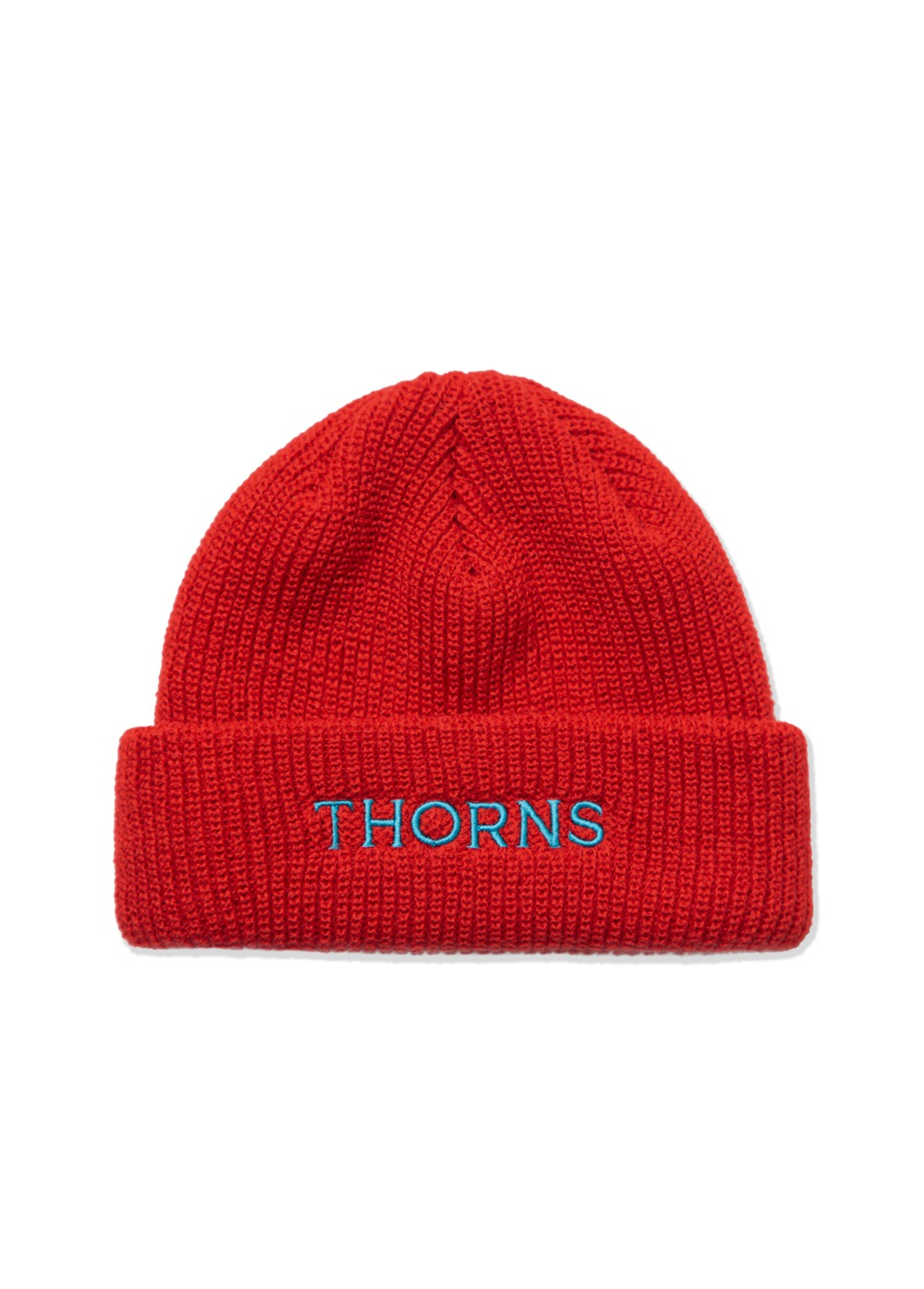 LMC THORNS SHORT BEANIE red