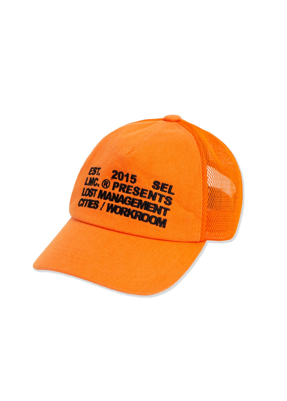 LMC WORKROOM MESH BALL CAP orange