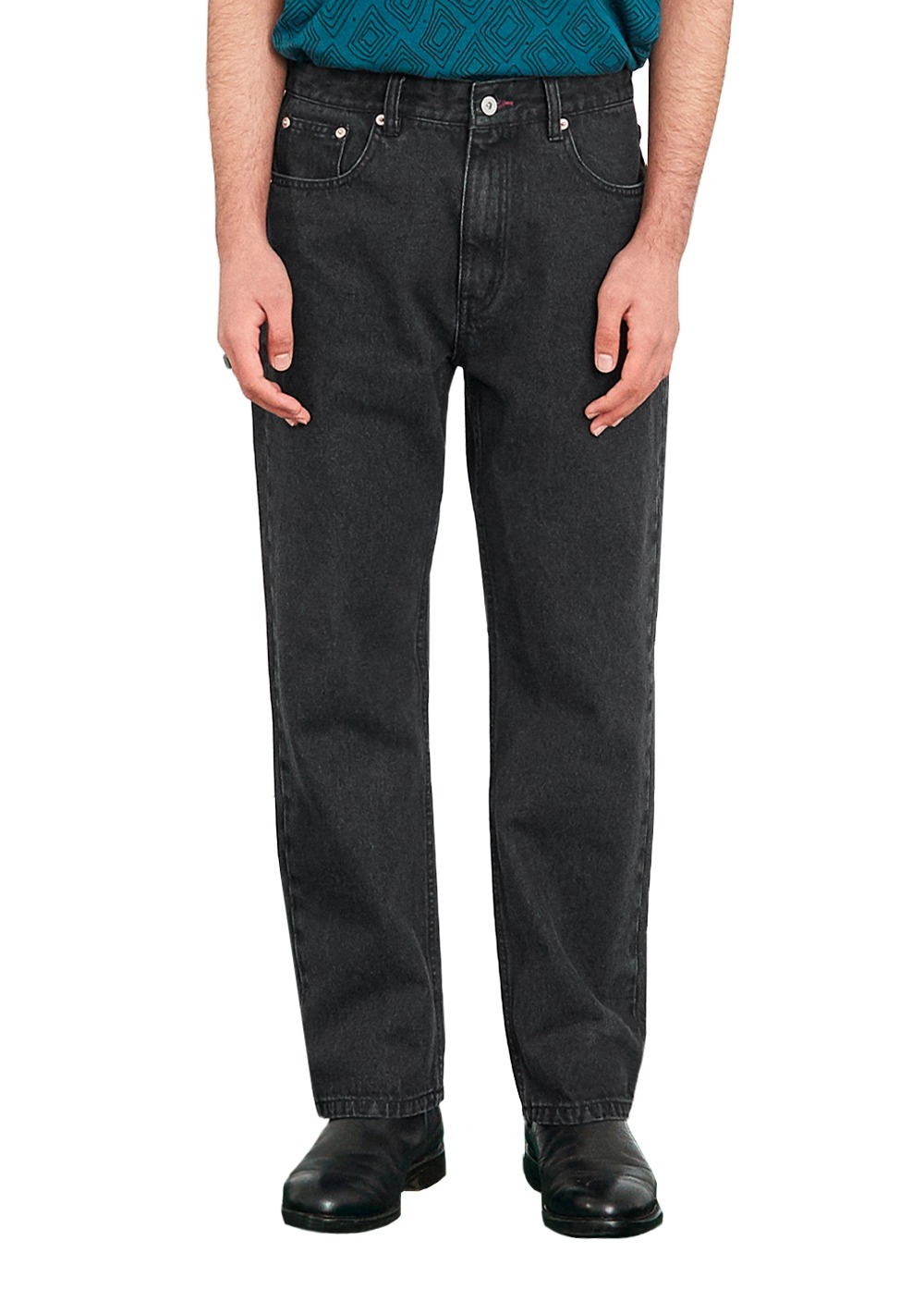 FUZZ 001 BIO WASHED JEAN black