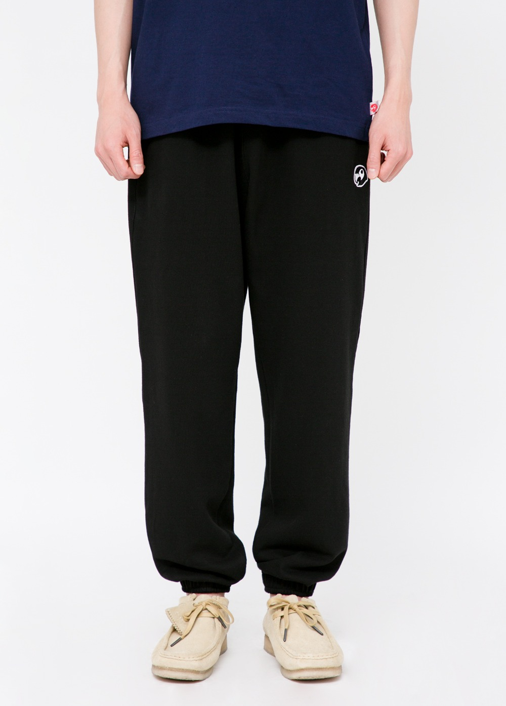 KANCO LOGO SWEATPANTS black