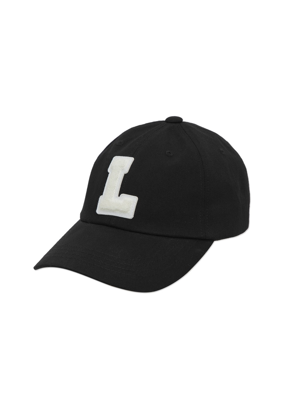 LMC L BOUCLE 6 PANEL CAP black